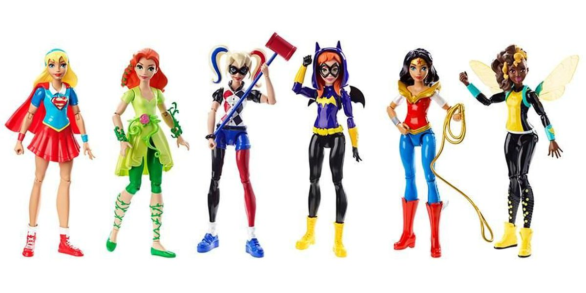DC comics and Target's new toys are all about girl power