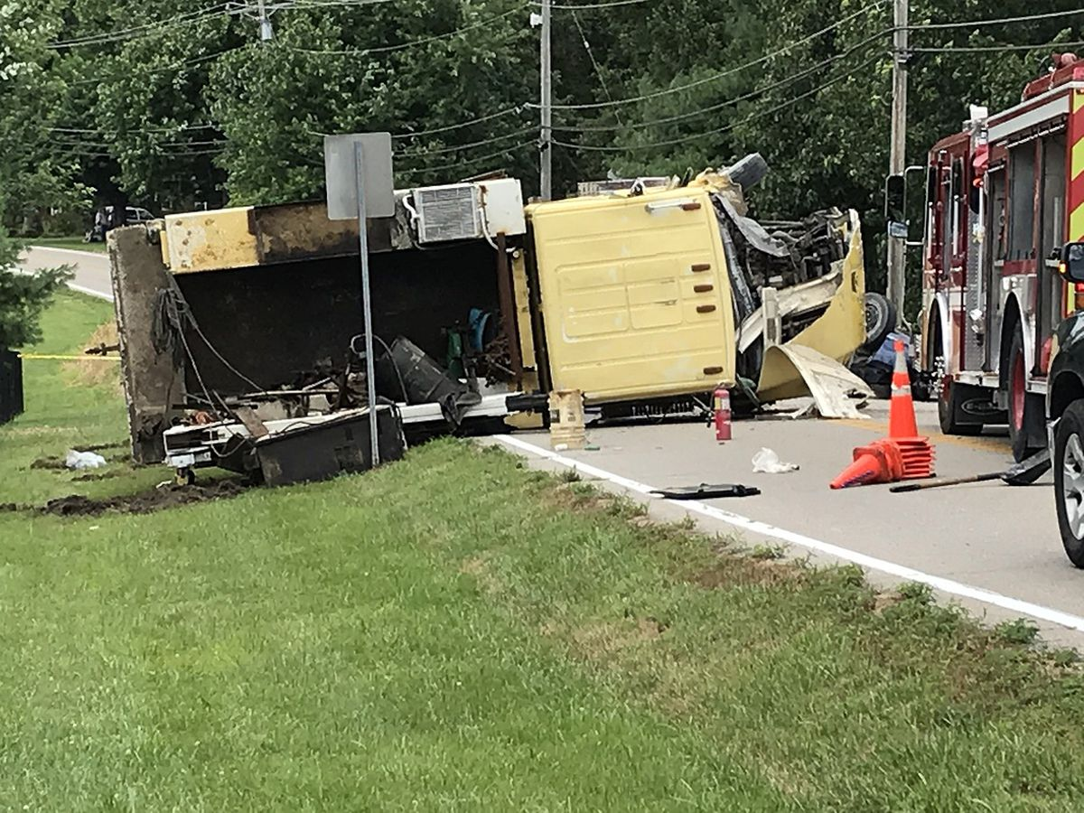 Two killed in two car, dump truck crash in Burlington