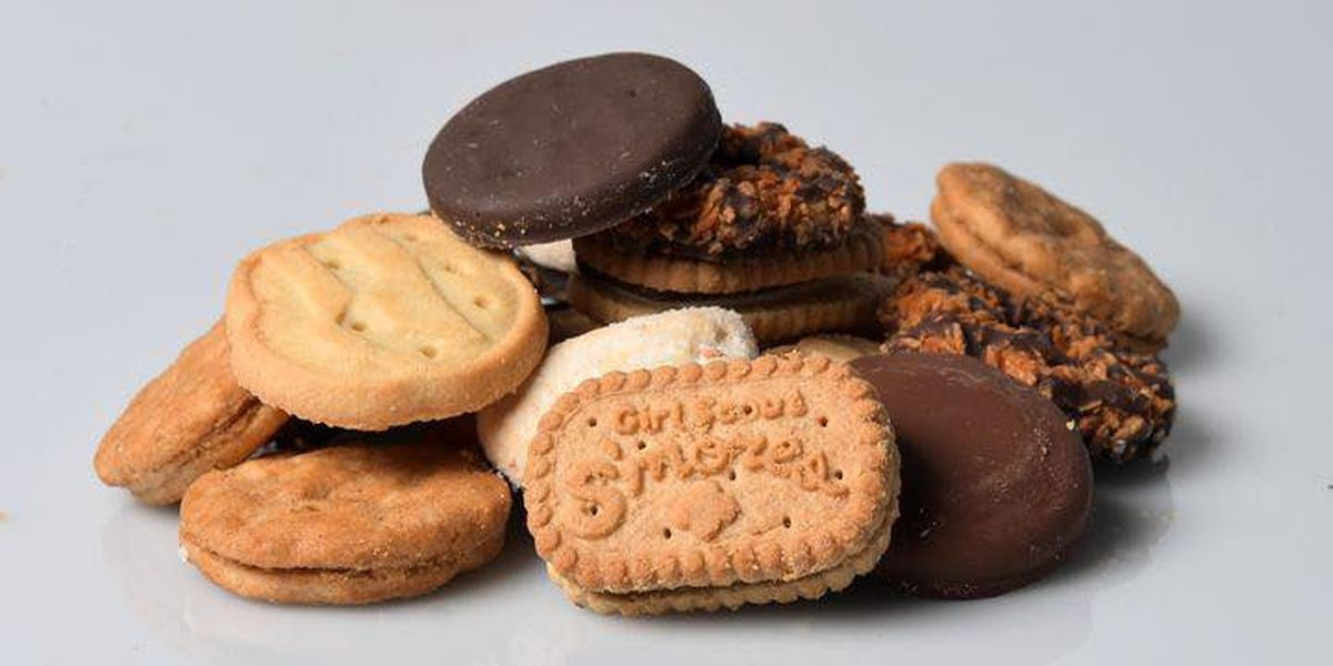Girl Scout Cookies are back this weekend