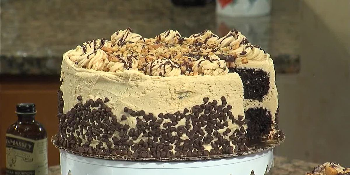 "Karri Perry's award winning recipe: ""The Buckeye Cake"""