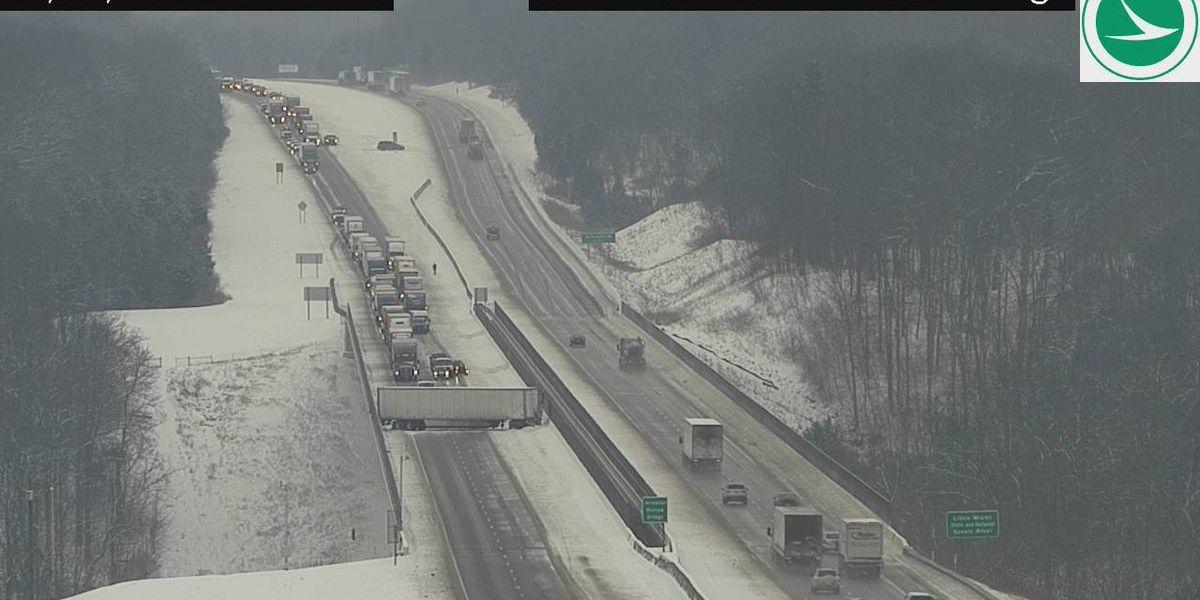All lanes of I-71 South reopened after crash at Jeremiah Morrow Bridge