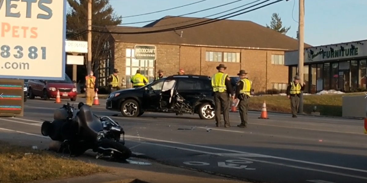 Motorcyclist seriously injured in Anderson Township crash