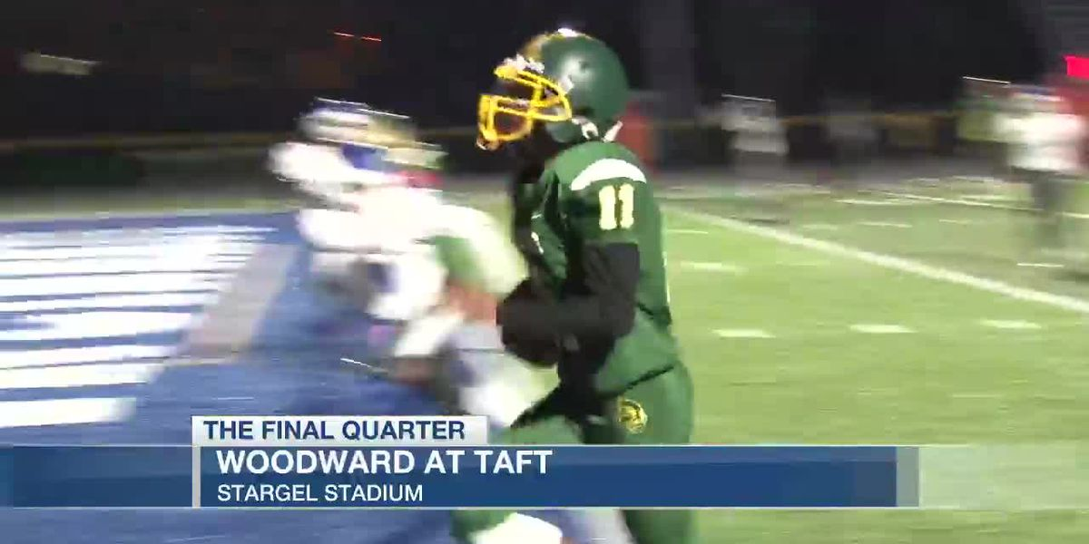 Taft improves to 8-1 with blowout win over Woodward