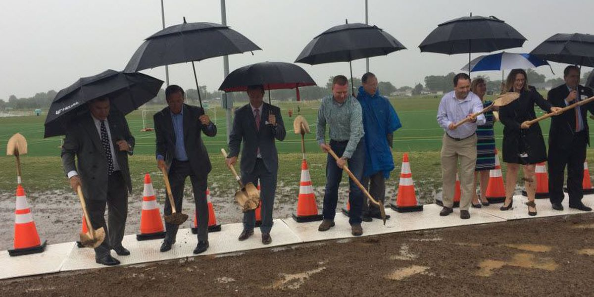 Groundbreaking Friday for fieldhouse at Voice of America athletic complex