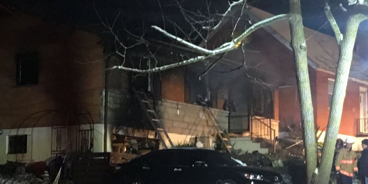 Three explosions cause fire in Erlanger home