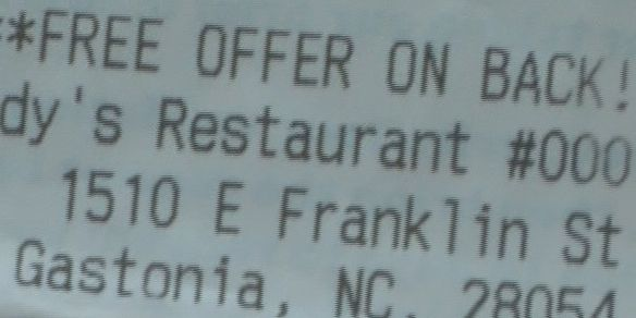 Wendy's customer called 'Chubby' on receipt gets visit from family of NFL legend