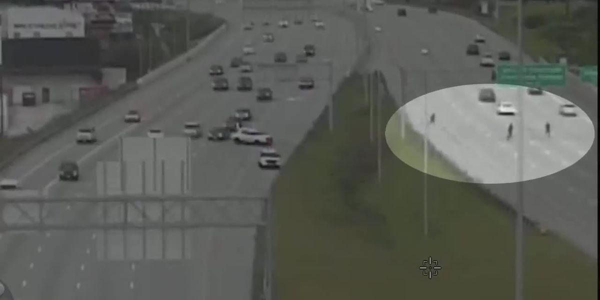 Chase ends after suspect runs onto I-75 northbound, police say