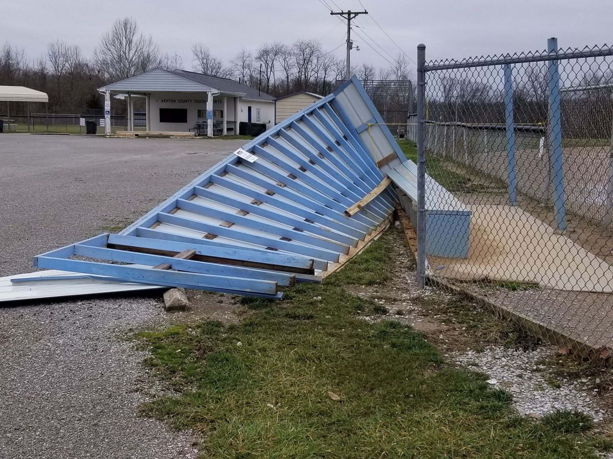NKY youth baseball league trying to find funds to replace storm-damaged dugouts