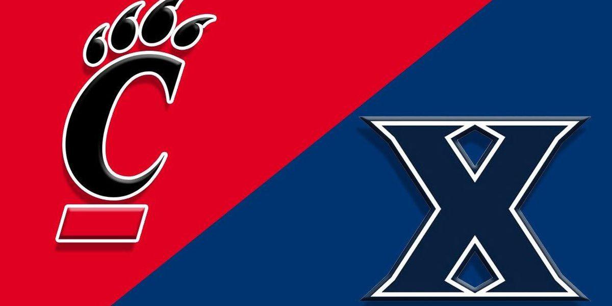 Xavier, UC Bearcats move up in AP Top 25