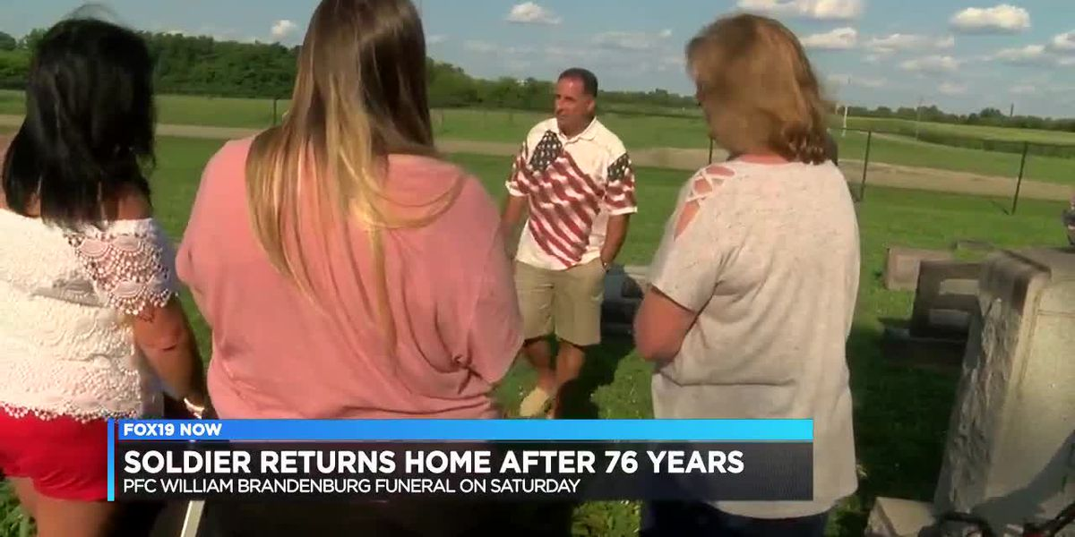 Soldier returns home after 76 years