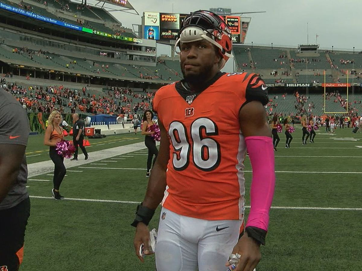 Carlos Dunlap heading west after Bengals make trade