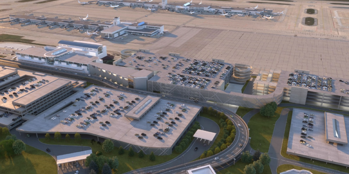 Work begins at CVG for new rental car facility