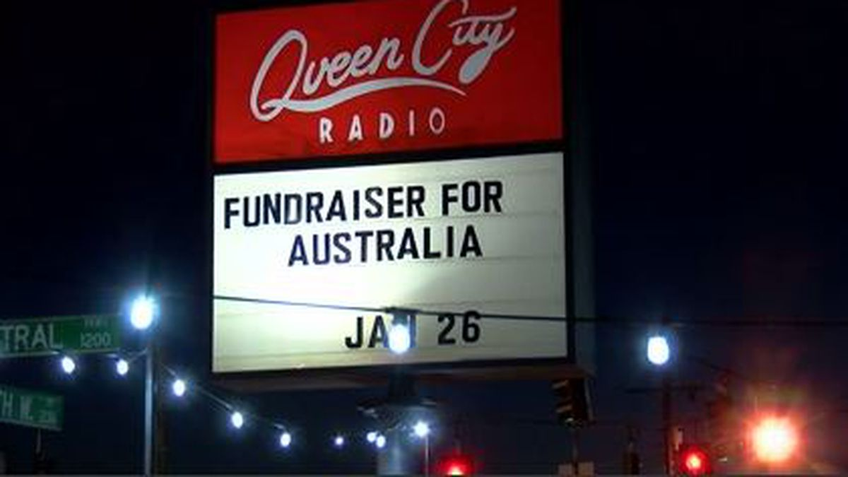 Australian native raising money in Queen City to help homeland plagued by wildfires