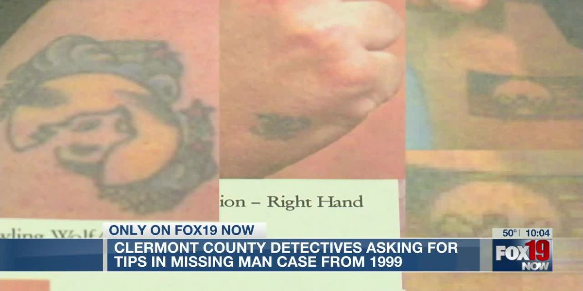 Clermont County detectives asking for tips in missing man case from 1999