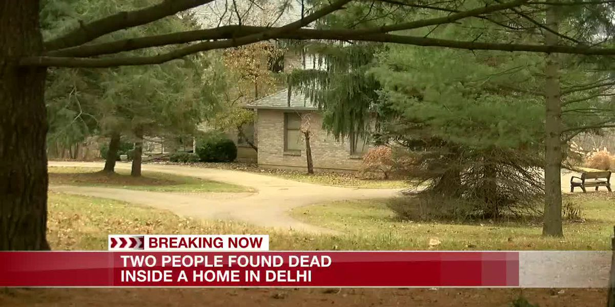 Two found dead in Delhi Twp. home