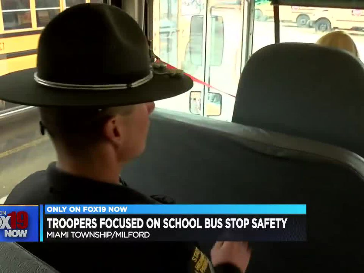 Ohio State Highway Patrol cracking down on bus stop safety after parents express concern