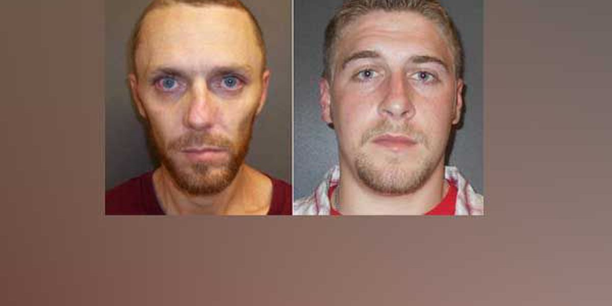 2 inmates escape from Fayette County jail in Connersville