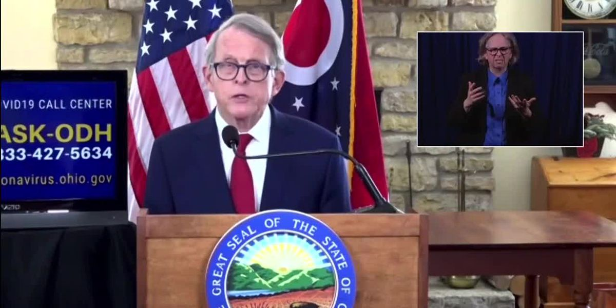Gov. DeWine gives update on COVID-19 vaccine rollout