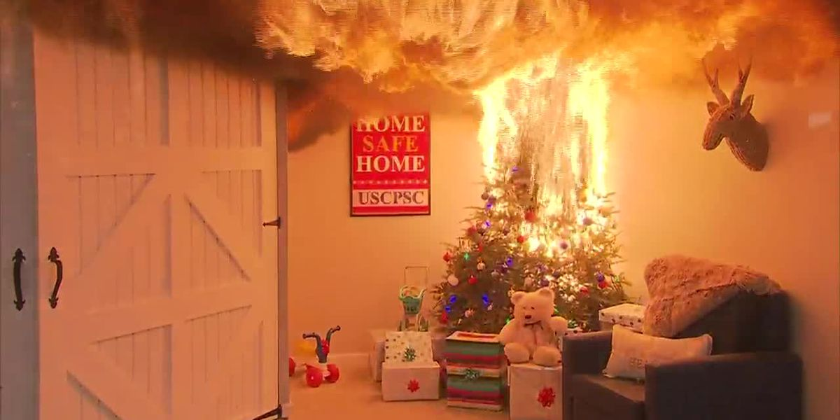 Firefighters have easy-to-follow tips for preventing house fires this holiday season