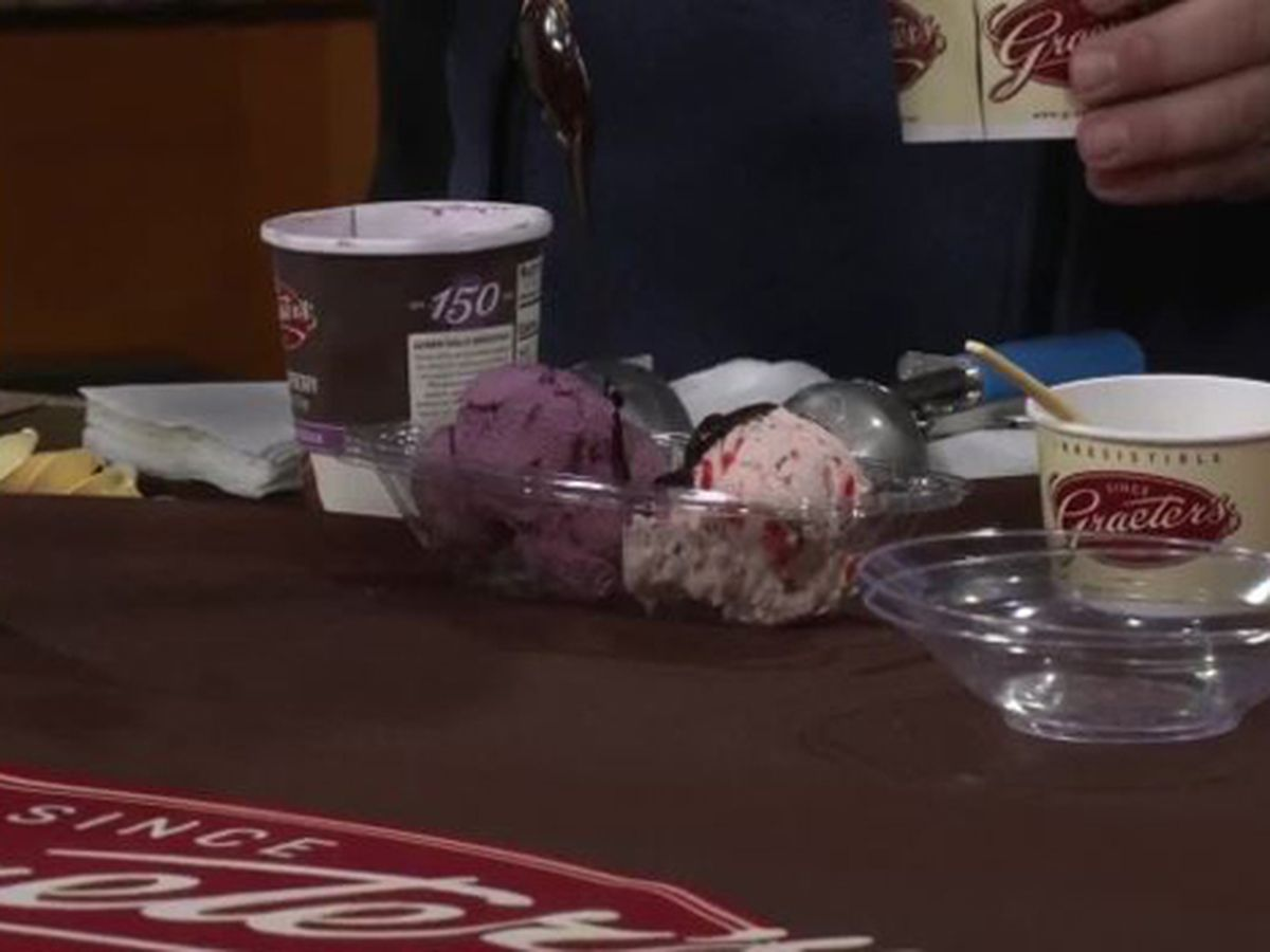 "How to make a ""Loveboat Sundae"" from Graeter's Ice Cream"
