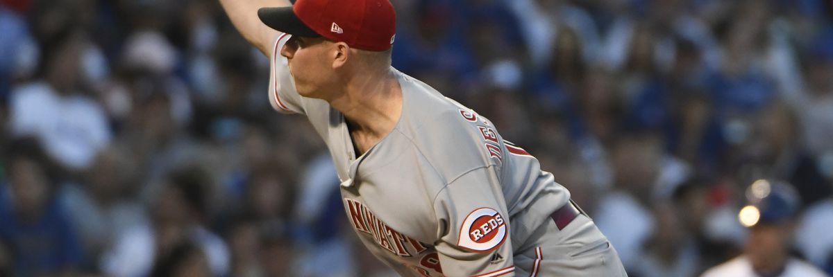 DeSclafani ties club record in Reds 7-5 loss to the Brewers