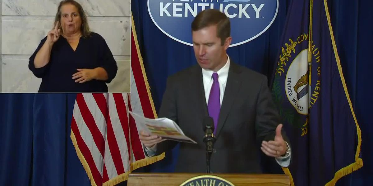 Six months after first reported COVID-19 case in Ky., Beshear confirms 313 new cases Sunday