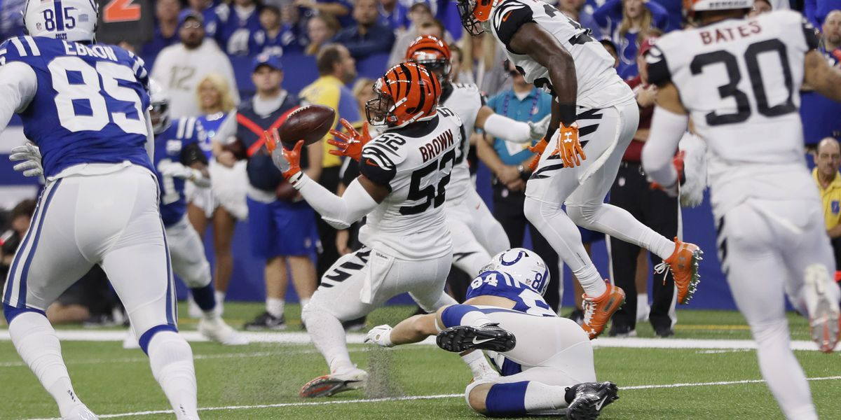 Banged-up Bengals lose LB Preston Brown