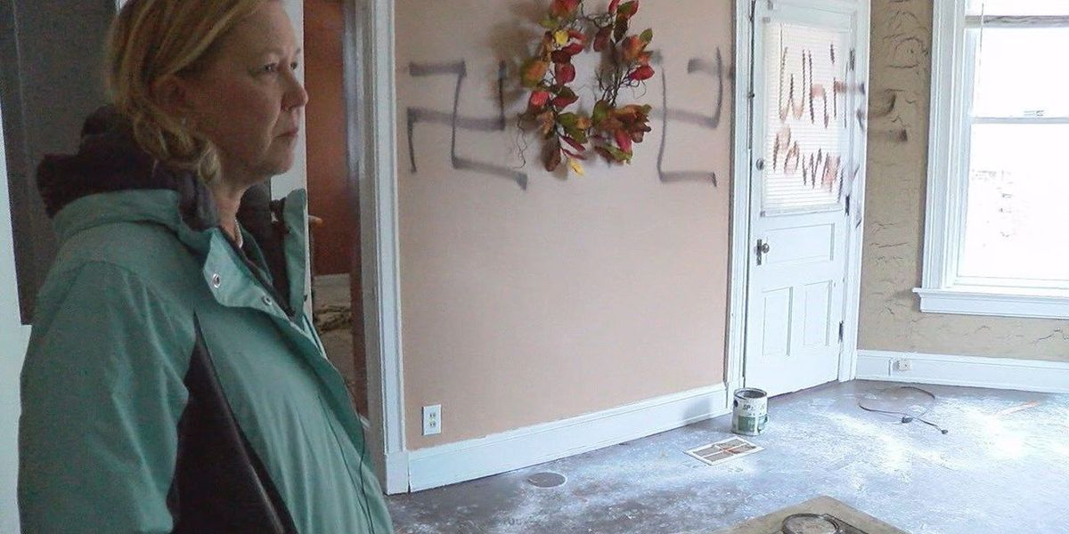 Cincinnati man pleads guilty to hate crime charges for vandalizing home with racist graffiti