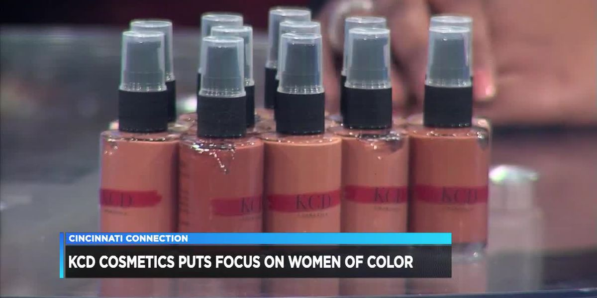 Cincinnati Connection - KCD Cosmetics Puts Focus on Women of Color