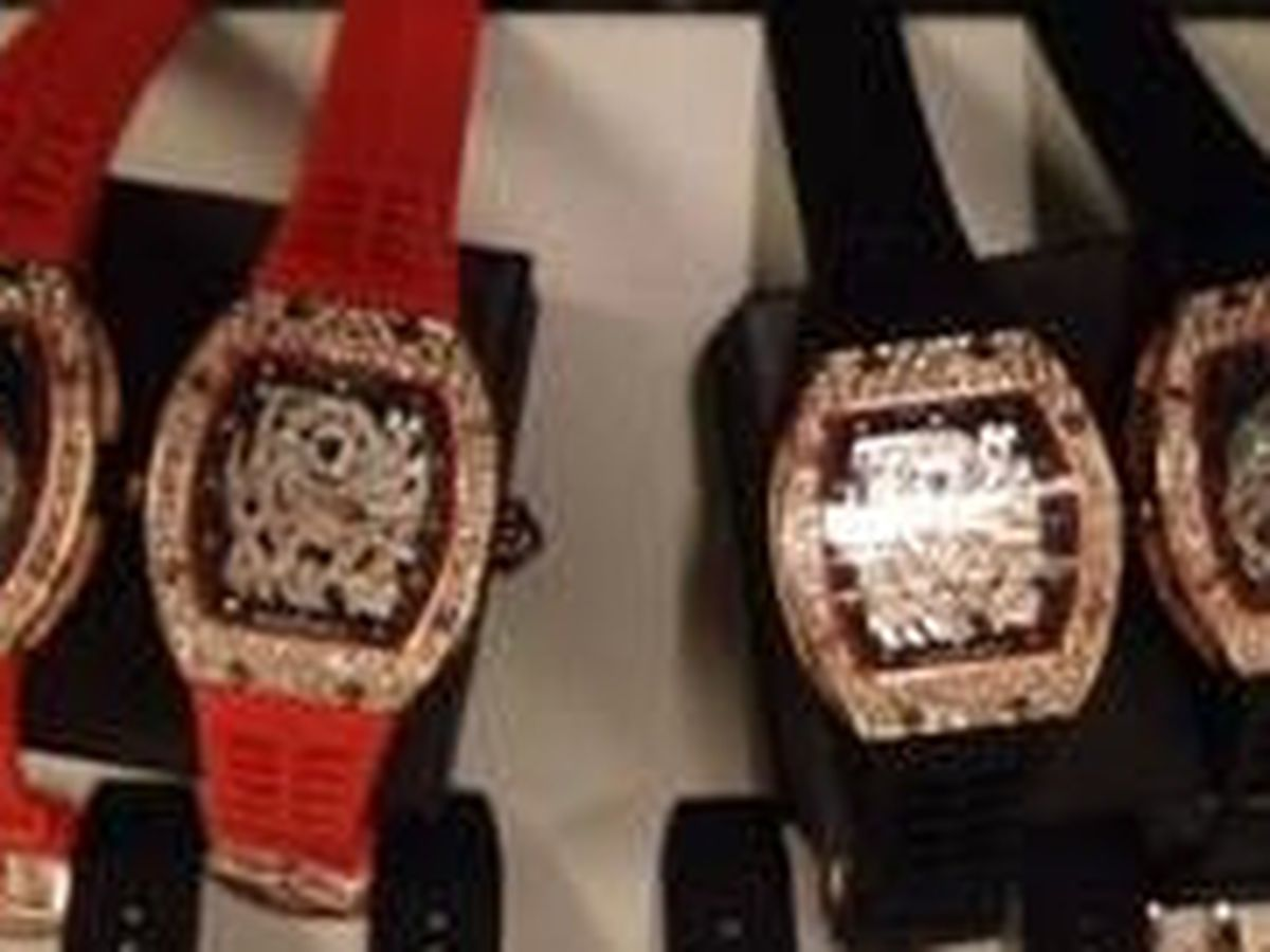 Counterfeit Richard Mille watches seized in Cincinnati
