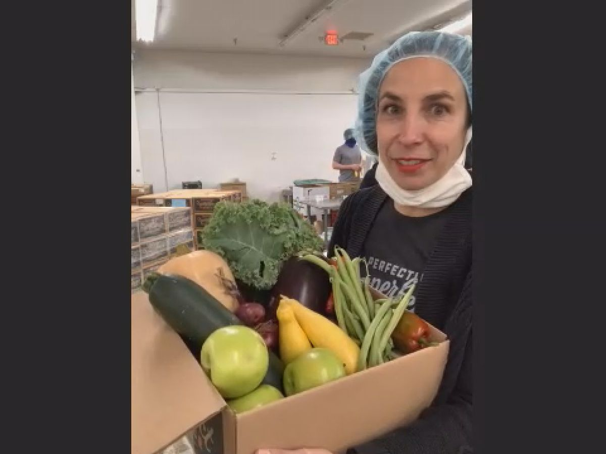 Rescued produce delivery service expanding to Cincinnati