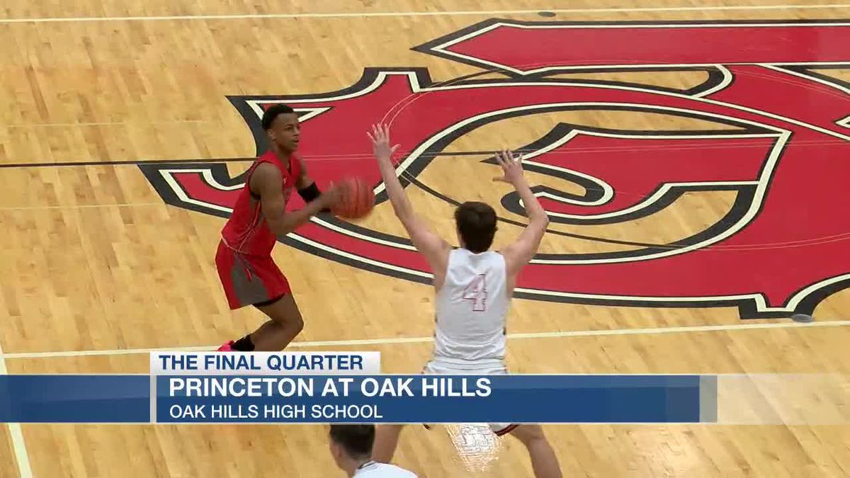Princeton hands Oak Hills its first GMC loss