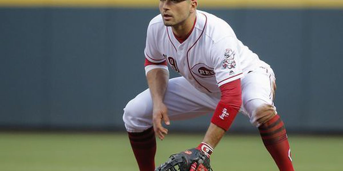 Votto named National League player of week