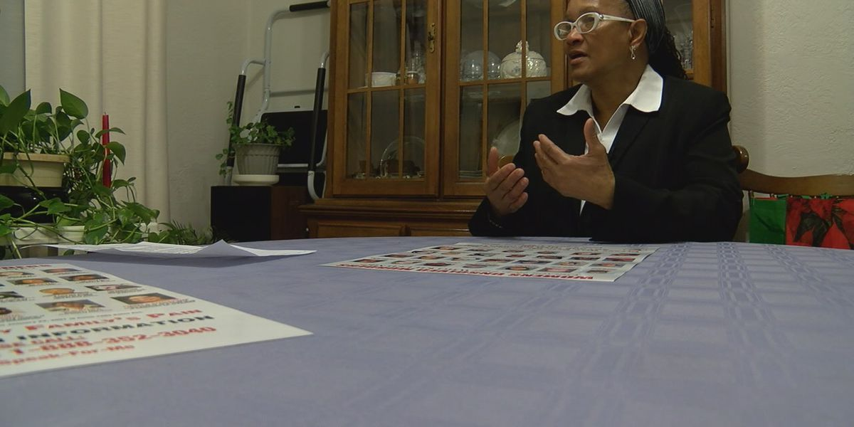 Local woman works to shed a light on cold cases