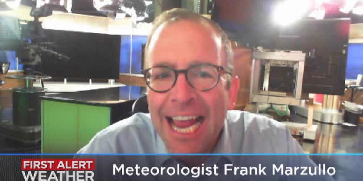 Frank's Saturday afternoon forecast
