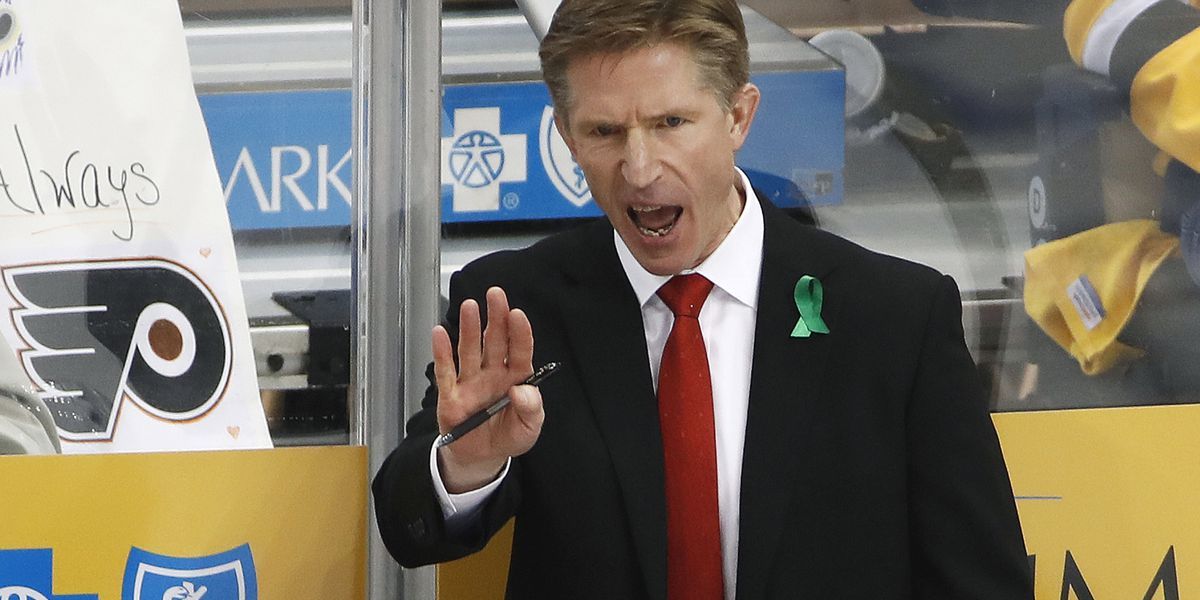 Flyers fire coach Hakstol, Gordon is interim replacement