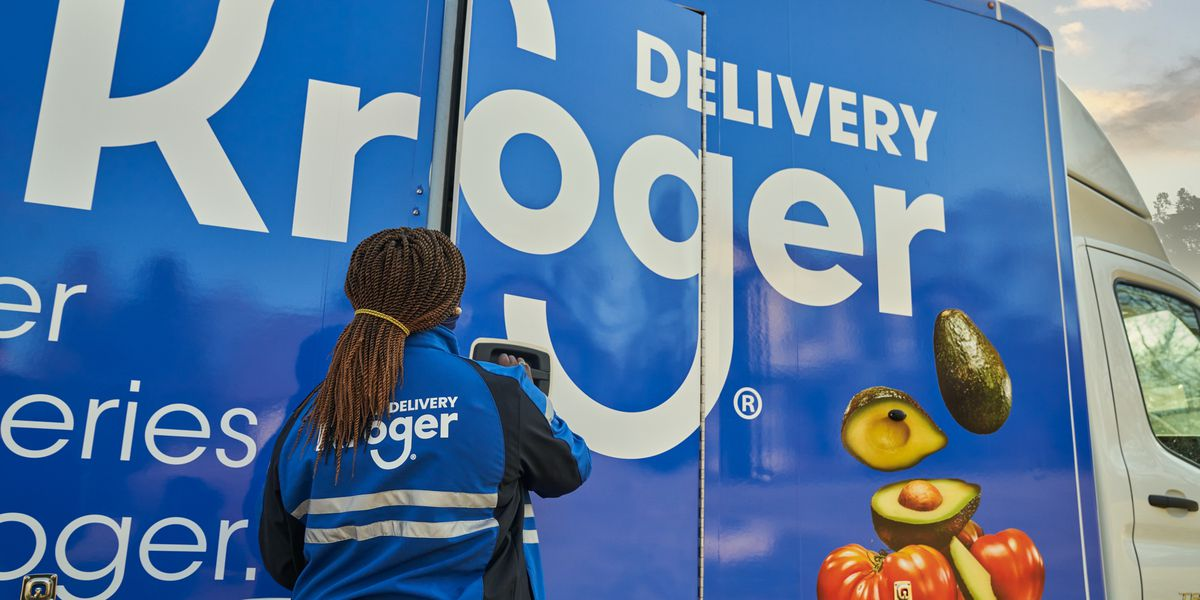 Kroger's Future Delivery Network: Robots, 'the hive,' groceries
