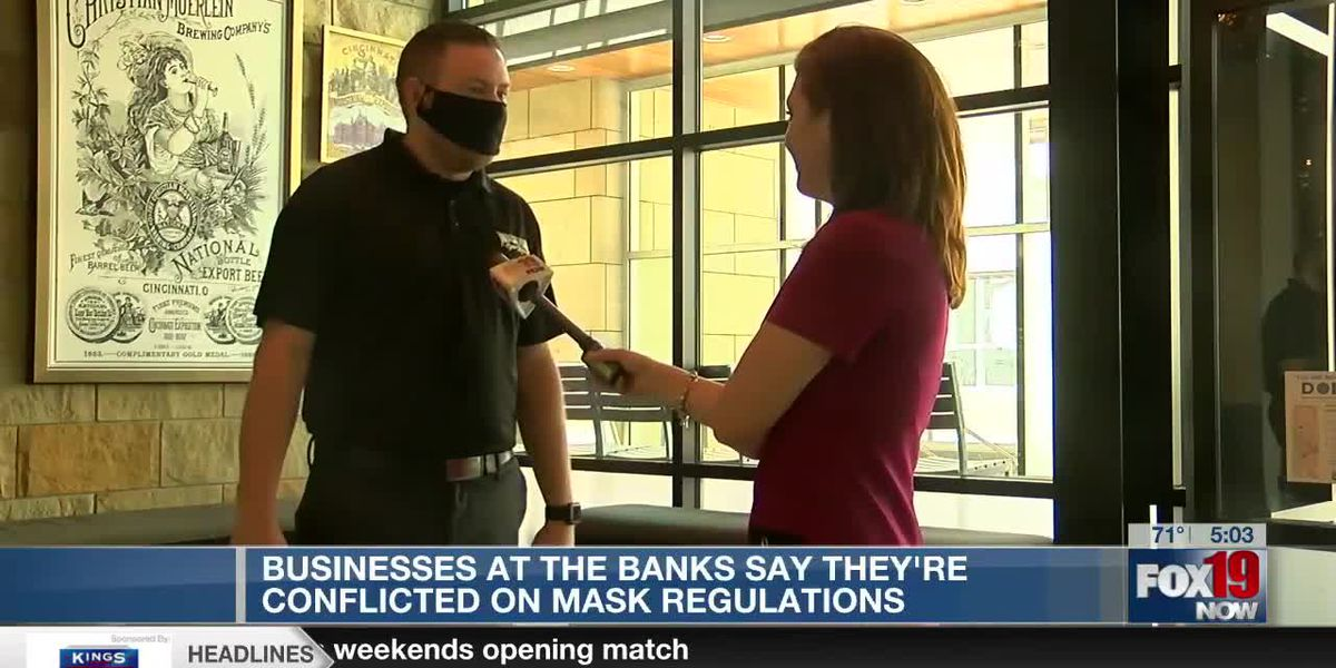 Businesses at The Banks conflicted over new mask regulations