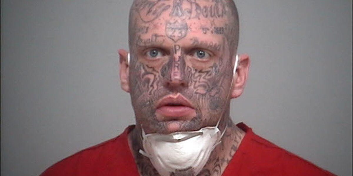Attempted murder suspect, nicknamed 'Bigworm' and covered with face tattoos, wanted in Ohio