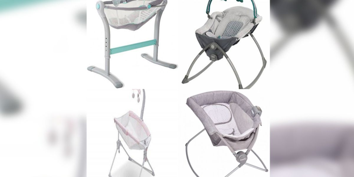 Infant sleepers, rockers recalled after deaths reported with similar products