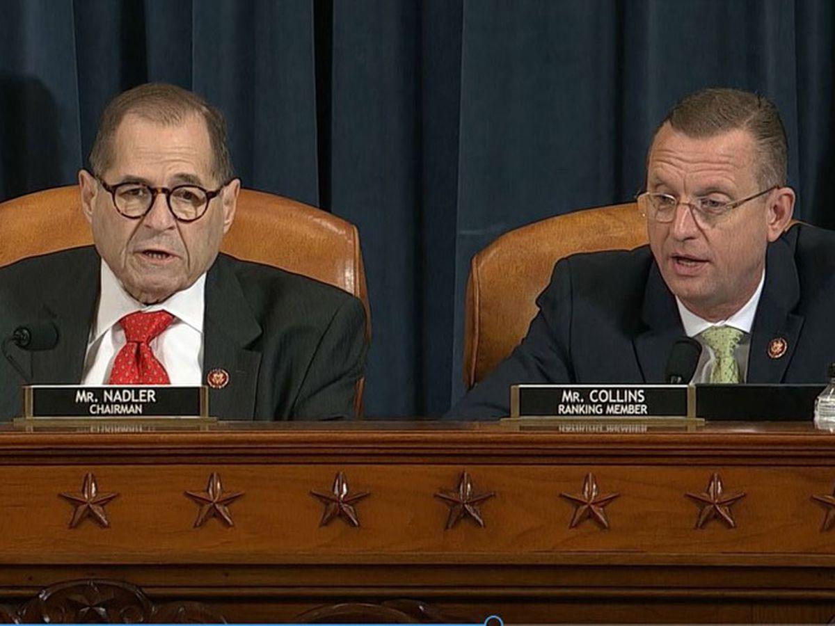 LIVE: House Judiciary panel moves steadily toward Trump impeachment vote