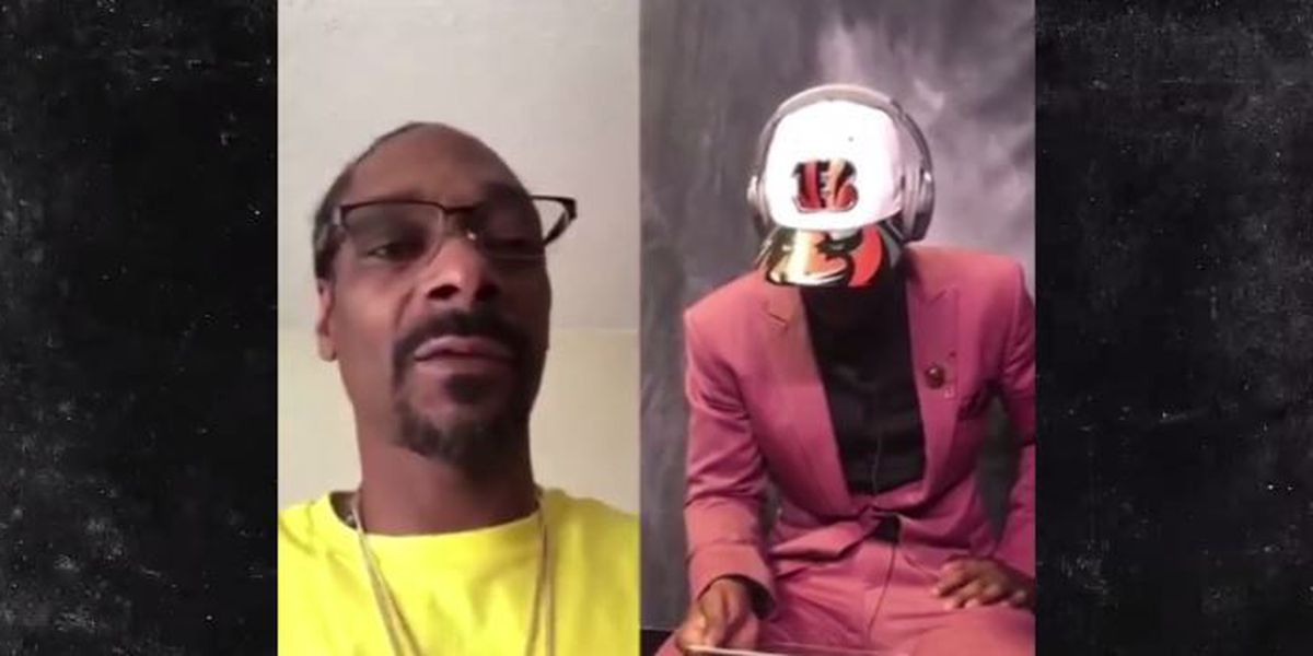 Bengals draft pick gets heartfelt shout out from Coach Snoop Dogg
