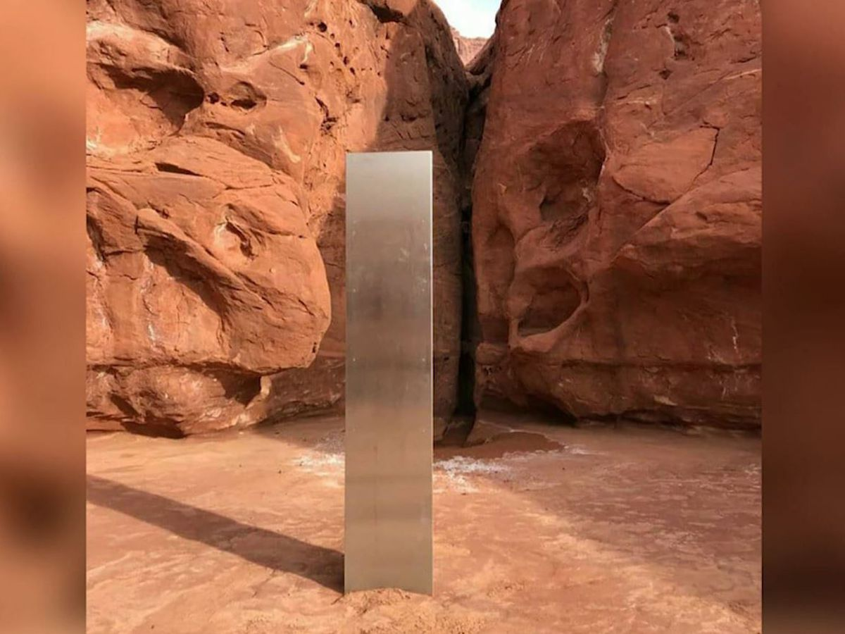 Mysterious monolith found in Utah desert has disappeared