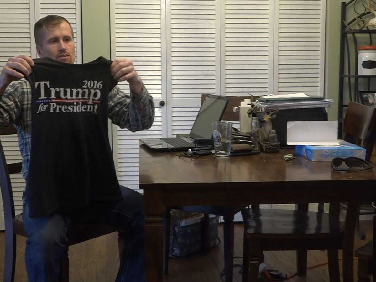 Military serviceman says gym owner told him Trump shirt made others uncomfortable, asked him not to wear it again