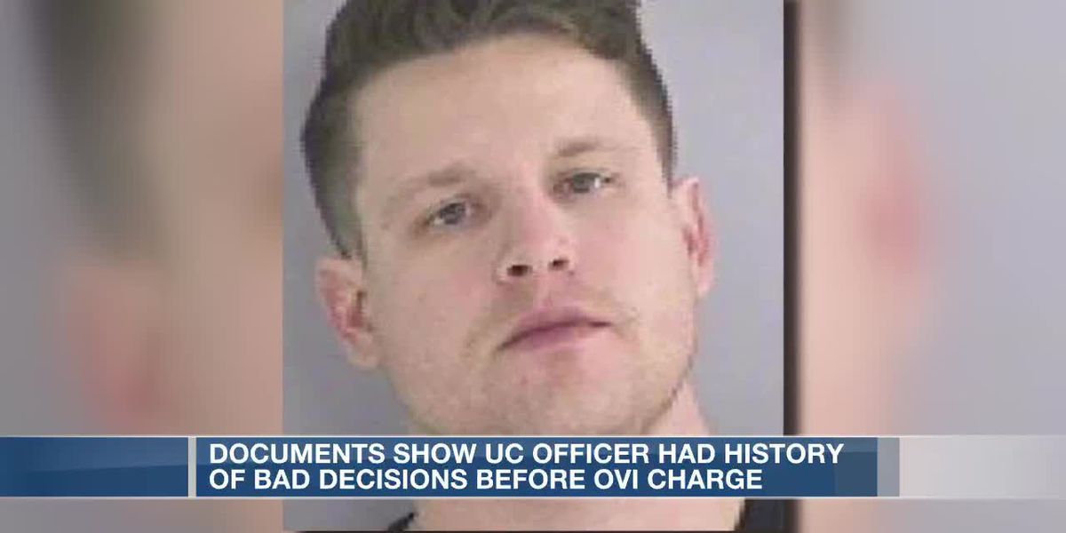 Documents show UC officer had history of bad decisions before OVI charge