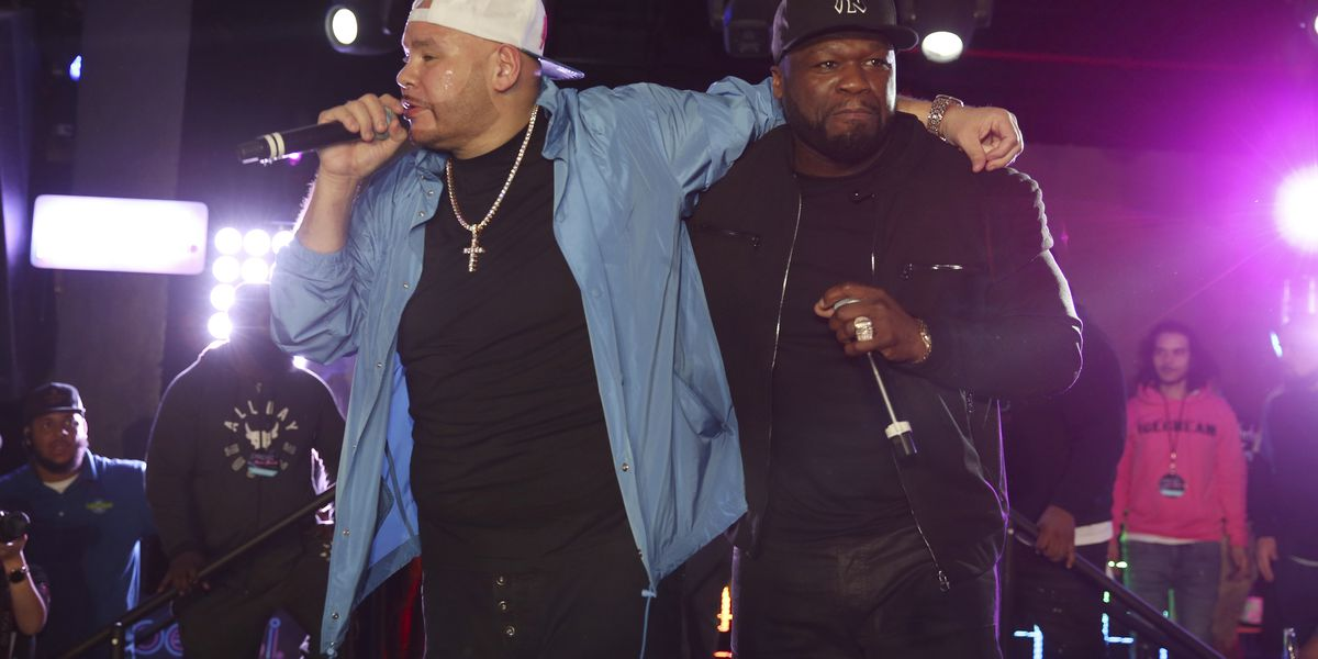50 Cent, DJ Khaled join Fat Joe at pre-Super Bowl concert