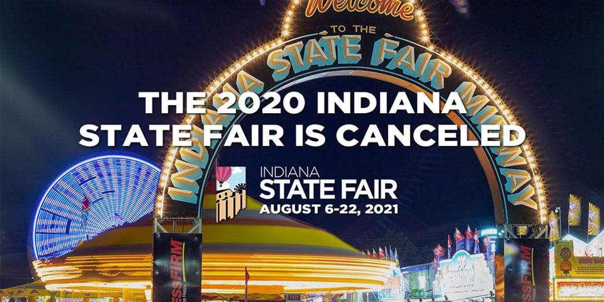 2020 Indiana State Fair canceled