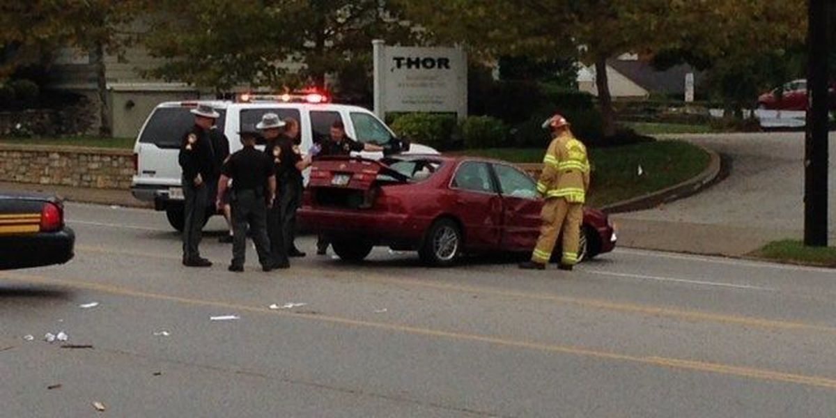Police: Drugs believed to be factor after driver strikes pedestrian, pole