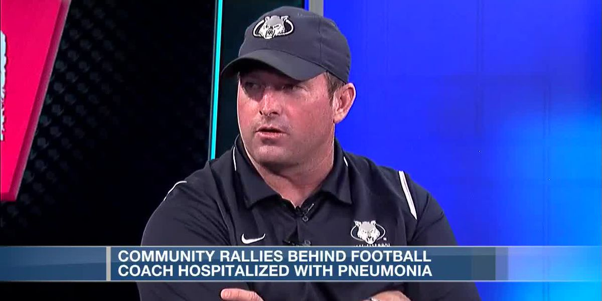 Family asks for prayers after Tri-State football coach hospitalized with pneumonia, COVID-19 symptom