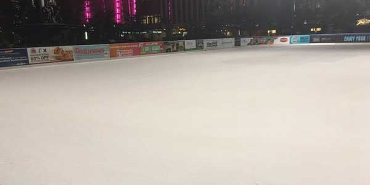 Fountain Square skating rink opens for season Friday